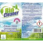 Bio Cleaner Citrex 2000 bio tisztítószer koncentrátum (0,5l)