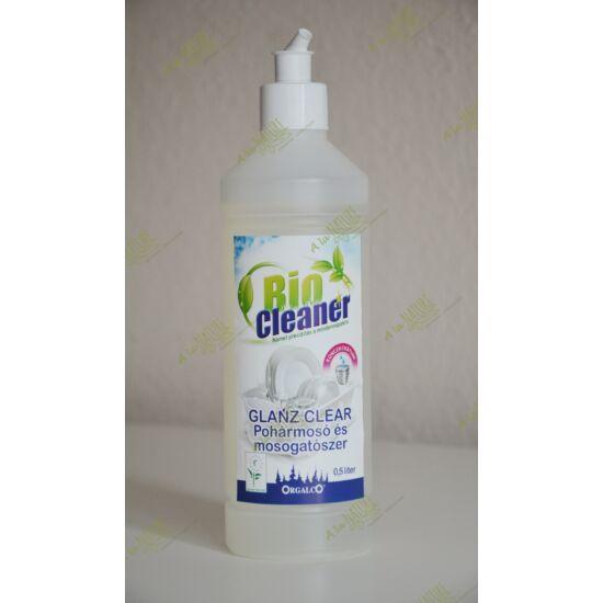 Bio Cleaner Glanz Clear Mosogatószer koncentrátum adagolófejjel (0,5l)