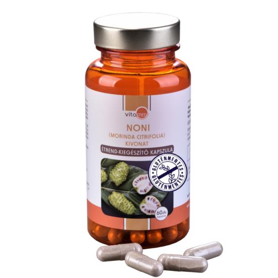 Noni gyümölcs kivonat étrend-kiegészítő kapszula (60db-os)