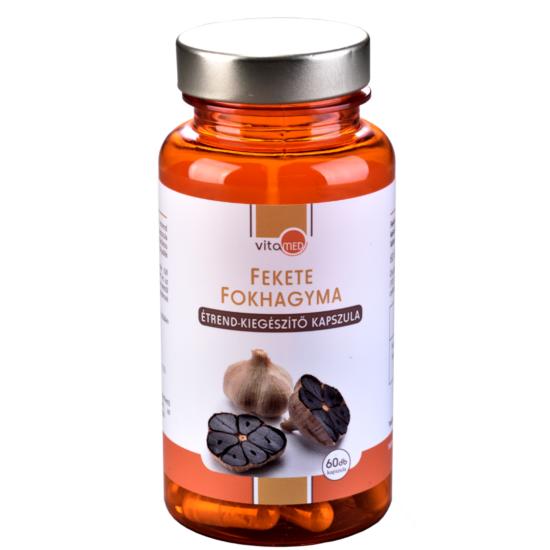 Fekete fokhagyma étrend-kiegészítő kapszula (60db-os)