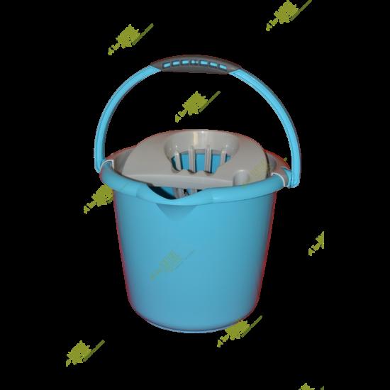 VIXI Csavarókosaras vödör, 12 literes (kék)