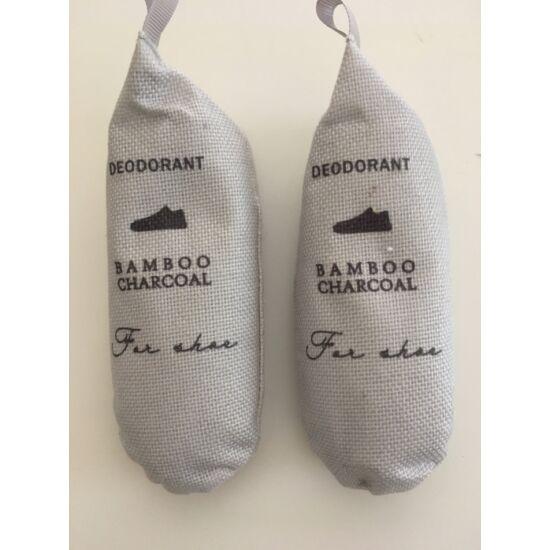 VIXI Cipő pára stop - Szagtalanító és nedvesség elszívó zsák bambusz szénnel (1 szett = 2 db zsák)