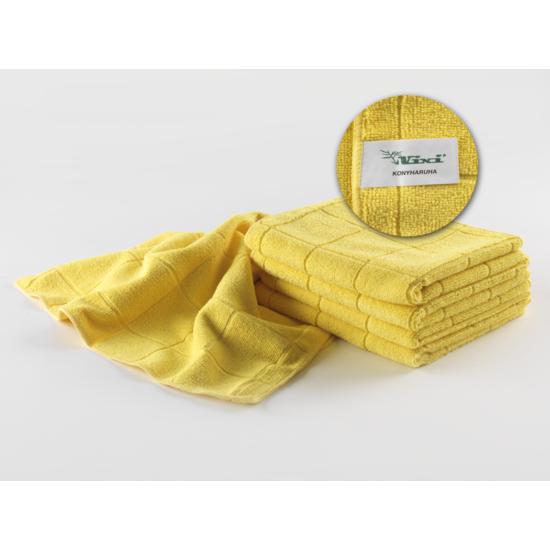 VIXI Konyharuha sárga színben 40x70