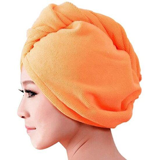 VIXI Hajszárító turbán (narancssárga színben)