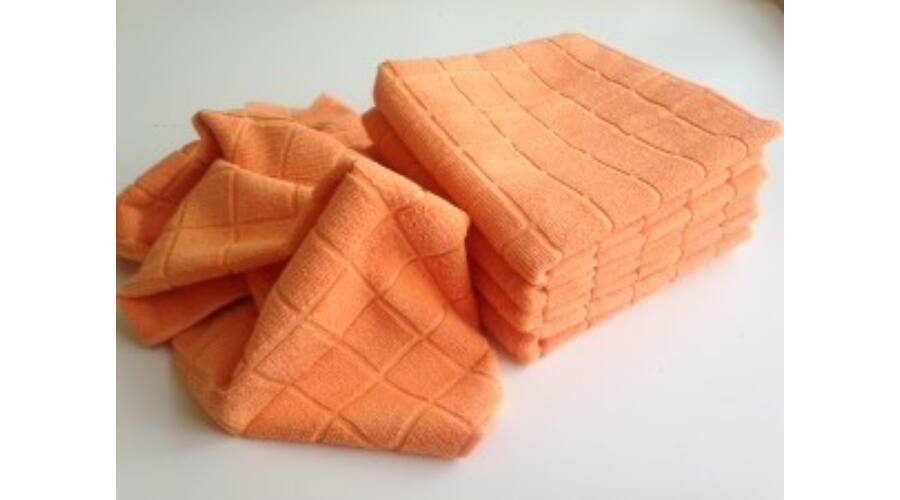 15f6762845 VIXI Konyharuha narancs színben 40x70 - Mikroszálas törölközők ...